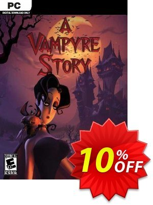 A Vampyre Story PC 優惠券,折扣碼 A Vampyre Story PC Deal,促銷代碼: A Vampyre Story PC Exclusive offer for iVoicesoft