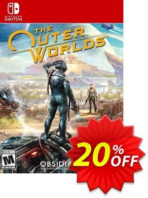 The Outer Worlds Switch discount coupon The Outer Worlds Switch Deal - The Outer Worlds Switch Exclusive offer for iVoicesoft