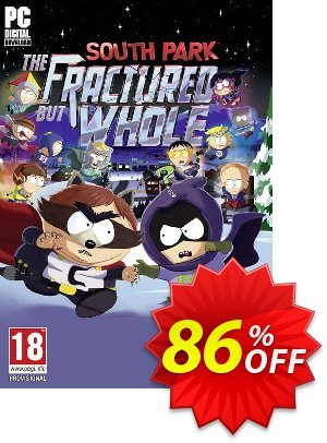 South Park: The Fractured But Whole PC Coupon discount South Park: The Fractured But Whole PC Deal. Promotion: South Park: The Fractured But Whole PC Exclusive Easter Sale offer for iVoicesoft
