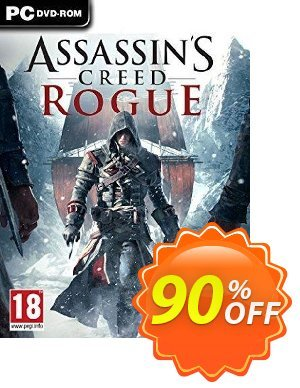 Assassin's Creed Rogue PC割引コード・Assassin's Creed Rogue PC Deal キャンペーン:Assassin's Creed Rogue PC Exclusive Easter Sale offer for iVoicesoft
