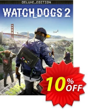 Watch Dogs 2 Deluxe Edition PC discount coupon Watch Dogs 2 Deluxe Edition PC Deal - Watch Dogs 2 Deluxe Edition PC Exclusive Easter Sale offer for iVoicesoft