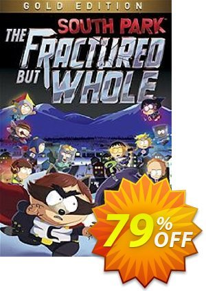 South Park: The Fractured But Whole Gold Edition PC discount coupon South Park: The Fractured But Whole Gold Edition PC Deal - South Park: The Fractured But Whole Gold Edition PC Exclusive Easter Sale offer for iVoicesoft