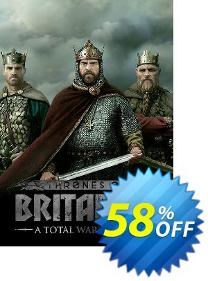 Total War Saga: Thrones of Britannia PC discount coupon Total War Saga: Thrones of Britannia PC Deal - Total War Saga: Thrones of Britannia PC Exclusive Easter Sale offer for iVoicesoft