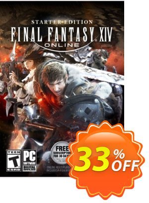 Final Fantasy XIV 14 Online Starter Edition PC 優惠券,折扣碼 Final Fantasy XIV 14 Online Starter Edition PC Deal,促銷代碼: Final Fantasy XIV 14 Online Starter Edition PC Exclusive Easter Sale offer for iVoicesoft