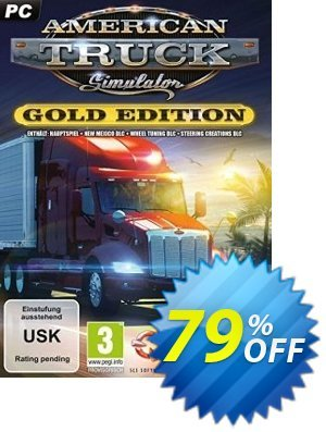 American Truck Simulator Gold Edition PC 프로모션 코드 American Truck Simulator Gold Edition PC Deal 프로모션: American Truck Simulator Gold Edition PC Exclusive Easter Sale offer for iVoicesoft