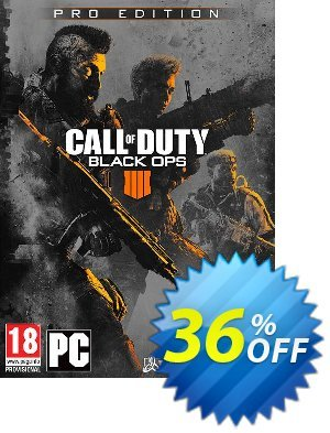 Call of Duty (COD) Black Ops 4 Pro Edition PC Coupon discount Call of Duty (COD) Black Ops 4 Pro Edition PC Deal. Promotion: Call of Duty (COD) Black Ops 4 Pro Edition PC Exclusive Easter Sale offer for iVoicesoft