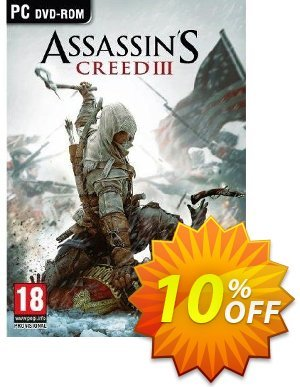 Assassin's Creed 3 (PC) discount coupon Assassin's Creed 3 (PC) Deal - Assassin's Creed 3 (PC) Exclusive Easter Sale offer for iVoicesoft