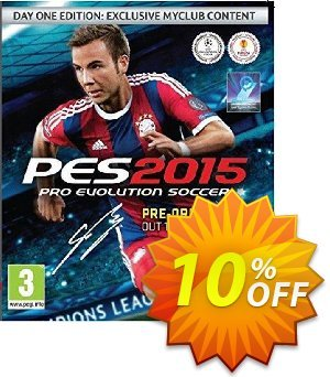 PES 2015 PC discount coupon PES 2015 PC Deal - PES 2015 PC Exclusive Easter Sale offer for iVoicesoft