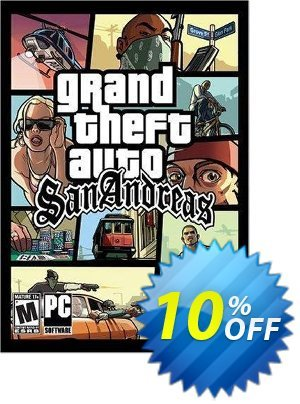 Grand Theft Auto - San Andreas Download (PC) discount coupon Grand Theft Auto - San Andreas Download (PC) Deal - Grand Theft Auto - San Andreas Download (PC) Exclusive Easter Sale offer for iVoicesoft