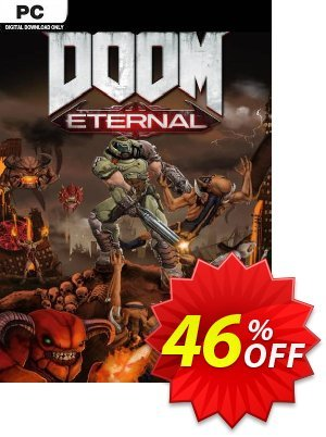 DOOM Eternal PC + DLC (EMEA) discount coupon DOOM Eternal PC + DLC (EMEA) Deal - DOOM Eternal PC + DLC (EMEA) Exclusive Easter Sale offer for iVoicesoft