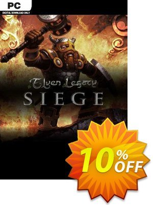 Elven Legacy Siege PC discount coupon Elven Legacy Siege PC Deal - Elven Legacy Siege PC Exclusive Easter Sale offer for iVoicesoft