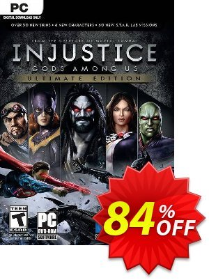 Injustice Gods Among Us - Ultimate Edition PC discount coupon Injustice Gods Among Us - Ultimate Edition PC Deal - Injustice Gods Among Us - Ultimate Edition PC Exclusive Easter Sale offer for iVoicesoft