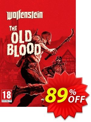 Wolfenstein: The Old Blood PC (Germany) discount coupon Wolfenstein: The Old Blood PC (Germany) Deal - Wolfenstein: The Old Blood PC (Germany) Exclusive Easter Sale offer for iVoicesoft