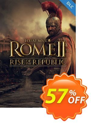 Total War ROME II 2 PC - Rise of the Republic DLC discount coupon Total War ROME II 2 PC - Rise of the Republic DLC Deal - Total War ROME II 2 PC - Rise of the Republic DLC Exclusive Easter Sale offer for iVoicesoft