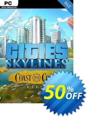Cities Skylines - Coast to Coast Radio PC discount coupon Cities Skylines - Coast to Coast Radio PC Deal - Cities Skylines - Coast to Coast Radio PC Exclusive Easter Sale offer for iVoicesoft