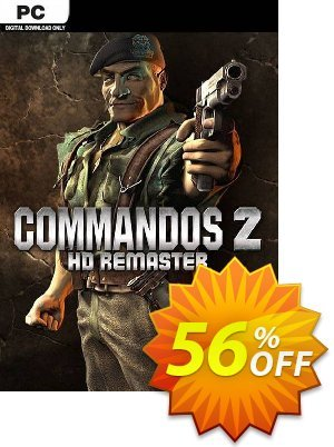 Commandos 2 - HD Remastered PC discount coupon Commandos 2 - HD Remastered PC Deal - Commandos 2 - HD Remastered PC Exclusive Easter Sale offer for iVoicesoft