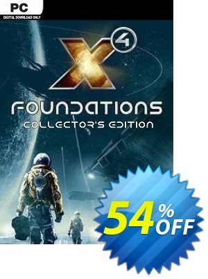 X4: Foundations Collectors Edition PC discount coupon X4: Foundations Collectors Edition PC Deal - X4: Foundations Collectors Edition PC Exclusive Easter Sale offer for iVoicesoft