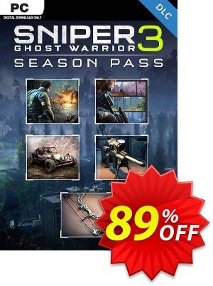 Sniper Ghost Warrior 3 - Season Pass PC discount coupon Sniper Ghost Warrior 3 - Season Pass PC Deal - Sniper Ghost Warrior 3 - Season Pass PC Exclusive Easter Sale offer for iVoicesoft