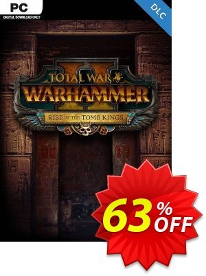 Total War Warhammer II 2 PC - Rise of the Tomb Kings DLC (WW) discount coupon Total War Warhammer II 2 PC - Rise of the Tomb Kings DLC (WW) Deal - Total War Warhammer II 2 PC - Rise of the Tomb Kings DLC (WW) Exclusive Easter Sale offer for iVoicesoft