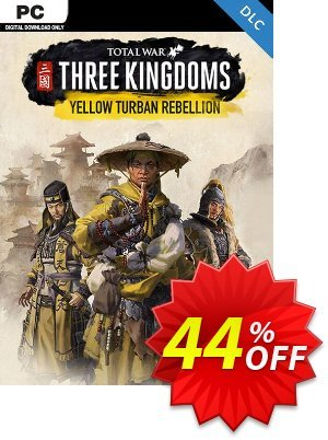 Total War Three Kingdoms PC - The Yellow Turban Rebellion DLC discount coupon Total War Three Kingdoms PC - The Yellow Turban Rebellion DLC Deal - Total War Three Kingdoms PC - The Yellow Turban Rebellion DLC Exclusive Easter Sale offer for iVoicesoft