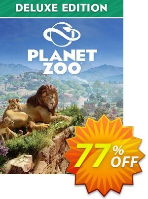 Planet Zoo - Deluxe Edition PC Coupon discount Planet Zoo - Deluxe Edition PC Deal. Promotion: Planet Zoo - Deluxe Edition PC Exclusive Easter Sale offer for iVoicesoft