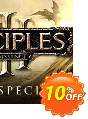 Disciples III Renaissance Steam Special Edition PC discount coupon Disciples III Renaissance Steam Special Edition PC Deal - Disciples III Renaissance Steam Special Edition PC Exclusive Easter Sale offer for iVoicesoft