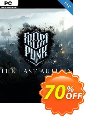 Frostpunk: The Last Autumn PC Coupon discount Frostpunk: The Last Autumn PC Deal. Promotion: Frostpunk: The Last Autumn PC Exclusive Easter Sale offer for iVoicesoft