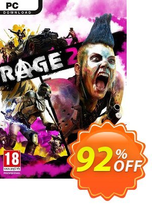 Rage 2 PC (Asia) + DLC discount coupon Rage 2 PC (Asia) + DLC Deal - Rage 2 PC (Asia) + DLC Exclusive Easter Sale offer for iVoicesoft