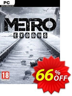 Metro Exodus PC discount coupon Metro Exodus PC Deal - Metro Exodus PC Exclusive Easter Sale offer for iVoicesoft