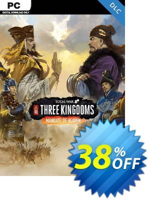 Total War Three Kingdoms PC - Mandate of Heaven DLC discount coupon Total War Three Kingdoms PC - Mandate of Heaven DLC Deal - Total War Three Kingdoms PC - Mandate of Heaven DLC Exclusive Easter Sale offer for iVoicesoft