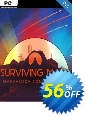 Surviving Mars: Marsvision Song Contest PC DLC Coupon discount Surviving Mars: Marsvision Song Contest PC DLC Deal. Promotion: Surviving Mars: Marsvision Song Contest PC DLC Exclusive Easter Sale offer for iVoicesoft