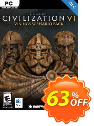 Sid Meier's Civilization VI: Vikings Scenario Pack PC (WW) Coupon discount Sid Meier's Civilization VI: Vikings Scenario Pack PC (WW) Deal. Promotion: Sid Meier's Civilization VI: Vikings Scenario Pack PC (WW) Exclusive Easter Sale offer for iVoicesoft