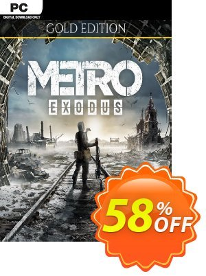Metro Exodus - Gold Edition PC Coupon, discount Metro Exodus - Gold Edition PC Deal. Promotion: Metro Exodus - Gold Edition PC Exclusive Easter Sale offer for iVoicesoft