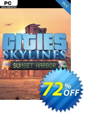Cities: Skylines - Sunset Harbor PC discount coupon Cities: Skylines - Sunset Harbor PC Deal - Cities: Skylines - Sunset Harbor PC Exclusive Easter Sale offer for iVoicesoft