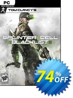 Tom Clancy's Splinter Cell Blacklist PC discount coupon Tom Clancy's Splinter Cell Blacklist PC Deal - Tom Clancy's Splinter Cell Blacklist PC Exclusive Easter Sale offer for iVoicesoft