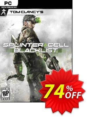 Tom Clancy's Splinter Cell Blacklist PC Coupon discount Tom Clancy's Splinter Cell Blacklist PC Deal. Promotion: Tom Clancy's Splinter Cell Blacklist PC Exclusive Easter Sale offer for iVoicesoft