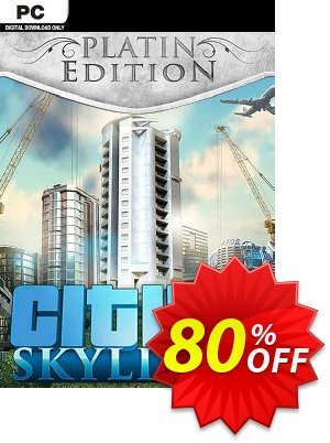 Cities: Skylines Platinum Edition PC Coupon discount Cities: Skylines Platinum Edition PC Deal. Promotion: Cities: Skylines Platinum Edition PC Exclusive Easter Sale offer for iVoicesoft