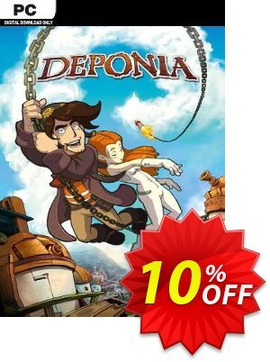 Deponia PC discount coupon Deponia PC Deal - Deponia PC Exclusive Easter Sale offer for iVoicesoft