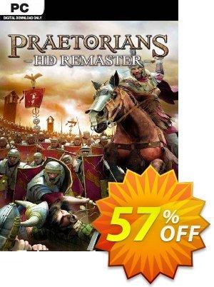 Praetorians - HD Remaster PC Coupon discount Praetorians - HD Remaster PC Deal. Promotion: Praetorians - HD Remaster PC Exclusive Easter Sale offer for iVoicesoft