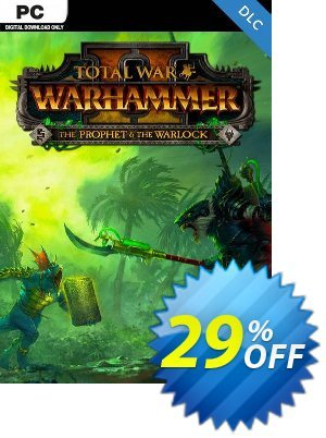 Total War: Warhammer II 2 - The Prophet & The Warlock DLC PC (WW) discount coupon Total War: Warhammer II 2 - The Prophet & The Warlock DLC PC (WW) Deal - Total War: Warhammer II 2 - The Prophet & The Warlock DLC PC (WW) Exclusive Easter Sale offer for iVoicesoft