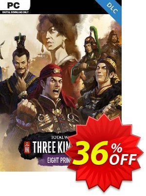 Total War: THREE KINGDOMS PC - Eight Princes DLC (EU) 優惠券,折扣碼 Total War: THREE KINGDOMS PC - Eight Princes DLC (EU) Deal,促銷代碼: Total War: THREE KINGDOMS PC - Eight Princes DLC (EU) Exclusive Easter Sale offer for iVoicesoft