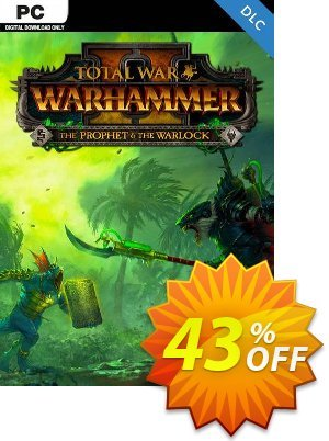 Total War: Warhammer II 2 - The Prophet & The Warlock DLC PC (EU) discount coupon Total War: Warhammer II 2 - The Prophet & The Warlock DLC PC (EU) Deal - Total War: Warhammer II 2 - The Prophet & The Warlock DLC PC (EU) Exclusive Easter Sale offer for iVoicesoft