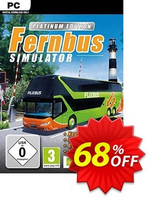 Fernbus Simulator - Platinum Edition PC Coupon discount Fernbus Simulator - Platinum Edition PC Deal. Promotion: Fernbus Simulator - Platinum Edition PC Exclusive Easter Sale offer for iVoicesoft