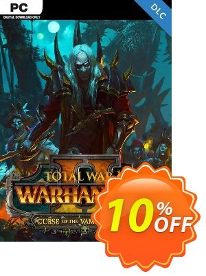 Total War Warhammer II 2 PC - Curse of the Vampire Coast DLC (EU) Coupon discount Total War Warhammer II 2 PC - Curse of the Vampire Coast DLC (EU) Deal. Promotion: Total War Warhammer II 2 PC - Curse of the Vampire Coast DLC (EU) Exclusive Easter Sale offer for iVoicesoft
