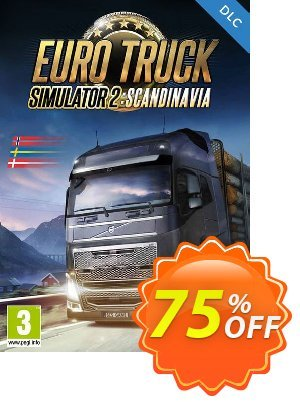 Euro Truck Simulator 2 - Scandinavia DLC PC Coupon discount Euro Truck Simulator 2 - Scandinavia DLC PC Deal. Promotion: Euro Truck Simulator 2 - Scandinavia DLC PC Exclusive Easter Sale offer for iVoicesoft