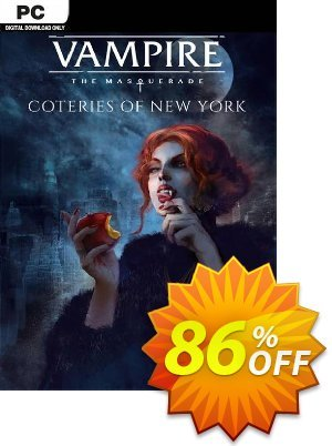 Vampire: The Masquerade - Coteries of New York PC discount coupon Vampire: The Masquerade - Coteries of New York PC Deal - Vampire: The Masquerade - Coteries of New York PC Exclusive Easter Sale offer for iVoicesoft
