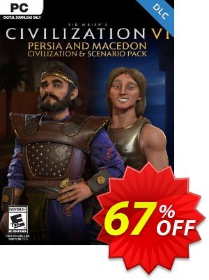 Sid Meier's Civilization VI: Persia and Macedon Civilization and Scenario Pack PC (WW) Coupon discount Sid Meier's Civilization VI: Persia and Macedon Civilization and Scenario Pack PC (WW) Deal. Promotion: Sid Meier's Civilization VI: Persia and Macedon Civilization and Scenario Pack PC (WW) Exclusive Easter Sale offer for iVoicesoft