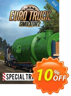 Euro Truck Simulator 2 - Special Transport DLC PC 優惠券,折扣碼 Euro Truck Simulator 2 - Special Transport DLC PC Deal,促銷代碼: Euro Truck Simulator 2 - Special Transport DLC PC Exclusive Easter Sale offer for iVoicesoft