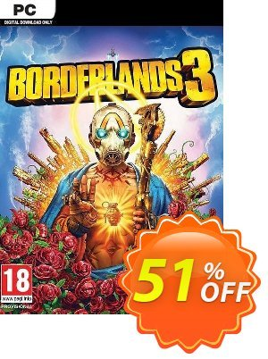 Borderlands 3 PC (Steam) Coupon discount Borderlands 3 PC (Steam) Deal. Promotion: Borderlands 3 PC (Steam) Exclusive Easter Sale offer for iVoicesoft