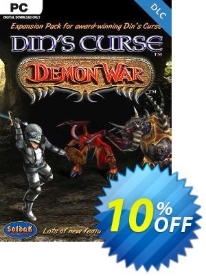 Din's Curse Demon War DLC PC discount coupon Din's Curse Demon War DLC PC Deal - Din's Curse Demon War DLC PC Exclusive Easter Sale offer for iVoicesoft